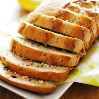 Funfetti Banana Bread is a delicious and colorful way to start the day!