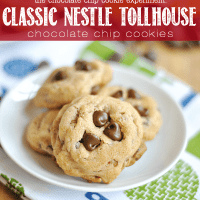 The Chocolate Chip Cookie Experiement: how did these Classic Nestle Tollhouse Chocolate Chip Cookies measure up? I'm testing 52 Chocolate Chip Cookie recipes, on a mission to find the very best one!