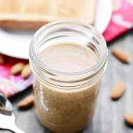 Maple Almond Butter is incredibly easy to make at home!
