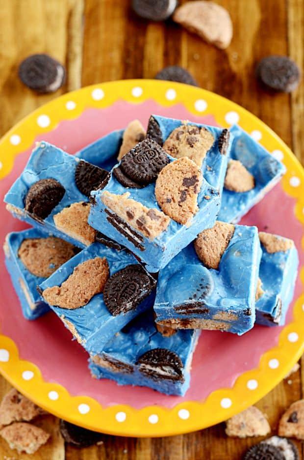 Cookie Monster Fudge