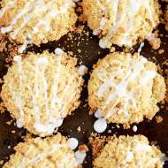Buttermilk Cinnamon Crumble Muffins recipe