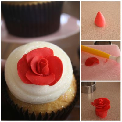easy fondant cupcake decor 2
