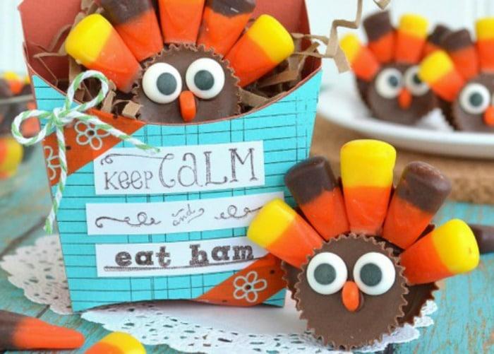10 Favorite Turkey Cookies and Cupcakes