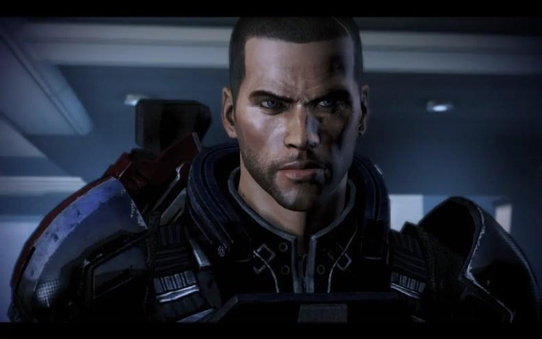 Shepard in Mass Effect 3