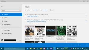 new-music-windows-10-albums