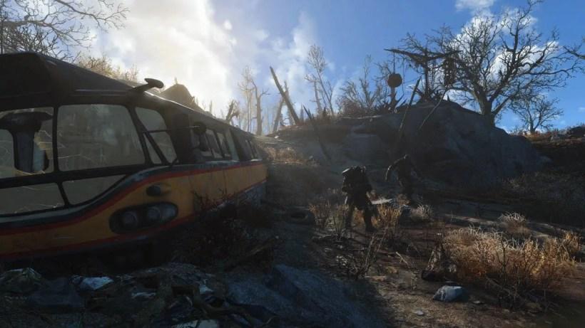libertad del jugador en Fallout 4
