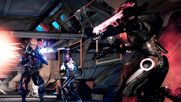 Mass Effect combate