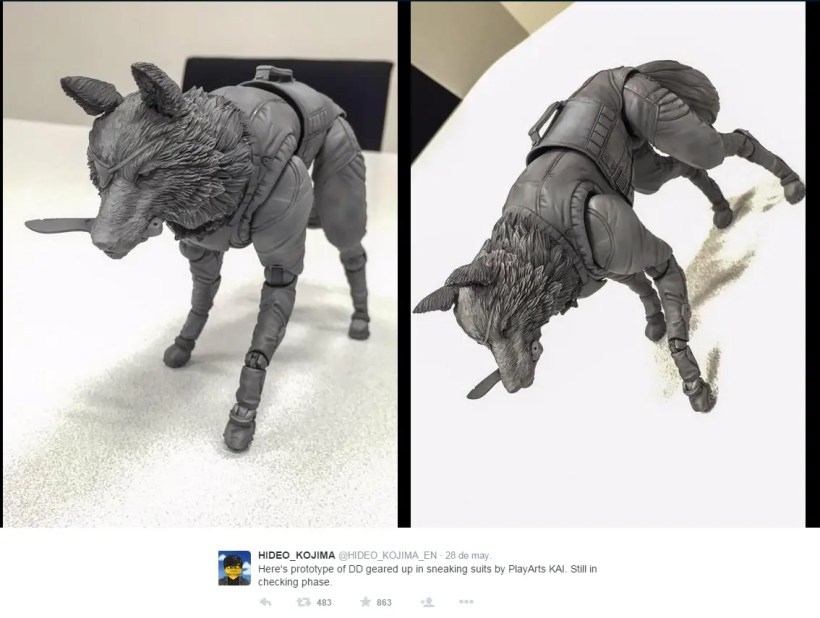 Metal Gear V The Phantom Pain: Nueva figura de DD