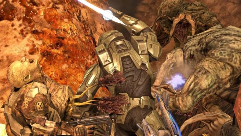 Halo 3 flood