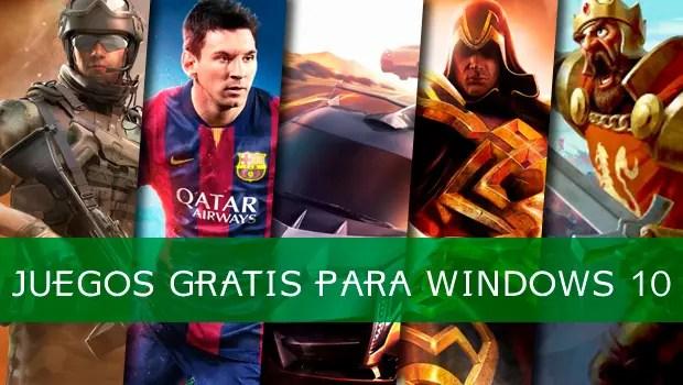 juegos windows 10