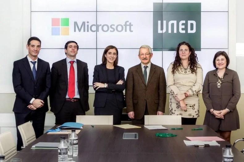 La UNED Microsoft Proyecto Europeo ECO