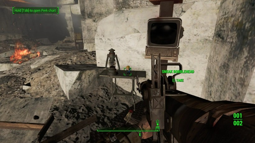 sneak bobblehead fallout 4 gamecrate 2