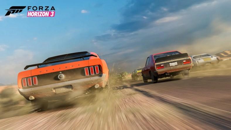 Forza-Horizon-3-Dirt-Road-Mustang