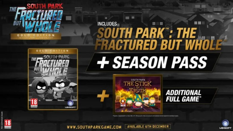 South Park The Fractures but whole