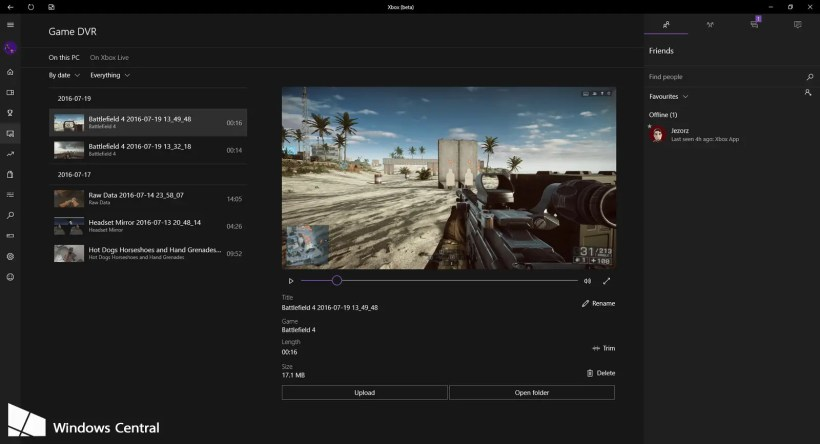 Xbox App Game Clips (3)
