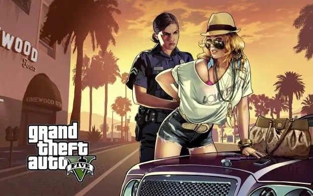 GTA V policía