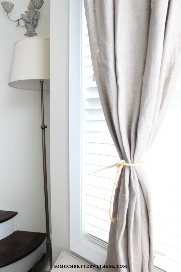French linen curtains somuchbetterwithage.com
