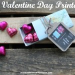 You Mean The World To Me – Free Valentine Printable & Craft