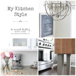 My Kitchen Style, An Announcement and A Giveaway
