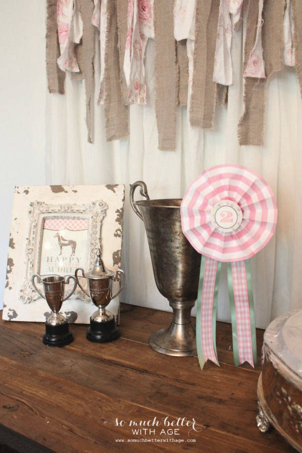 DIY / Horse show ribbons via somuchbetterwithage.com