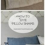 Indigo Dyed Pillow Shams