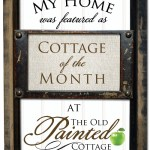 My Home is Featured on The Old Painted Cottage