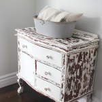 My Chippy Dresser That Resembles Cowhide