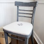 French Distressed Chair and Easy Upholstery Tutorial