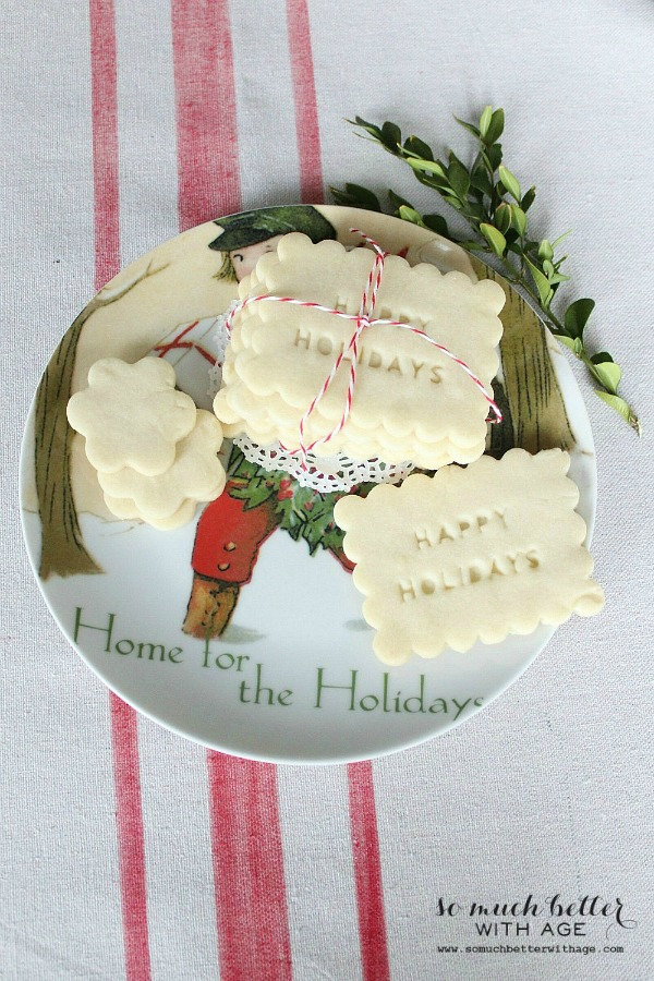 Easiest Shortbread Recipe by somuchbetterwithage.com