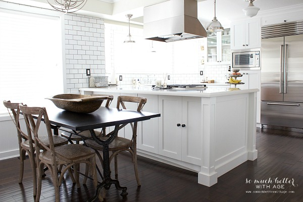 French industrial kitchen