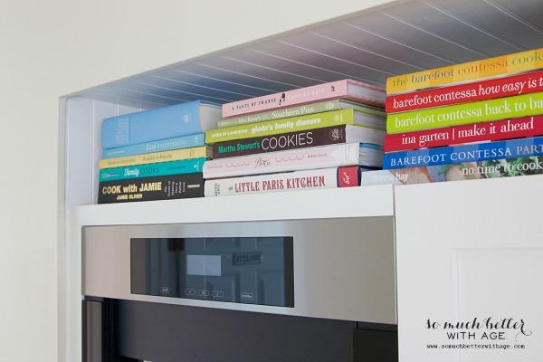 Cookbooks / Mini butler pantry updates | somuchbetterwithage.com