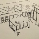 Open Shelving vs. Upper Cabinets