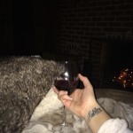 Mara Wine cozy blanket