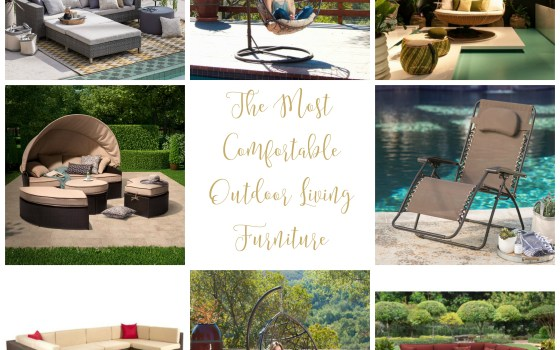 The Most Comfortable Outdoor Living Furniture