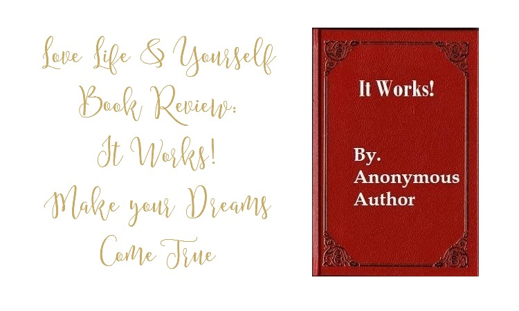 Book:  Self-Help & Motivational – It Works, little red book that makes your dreams come true