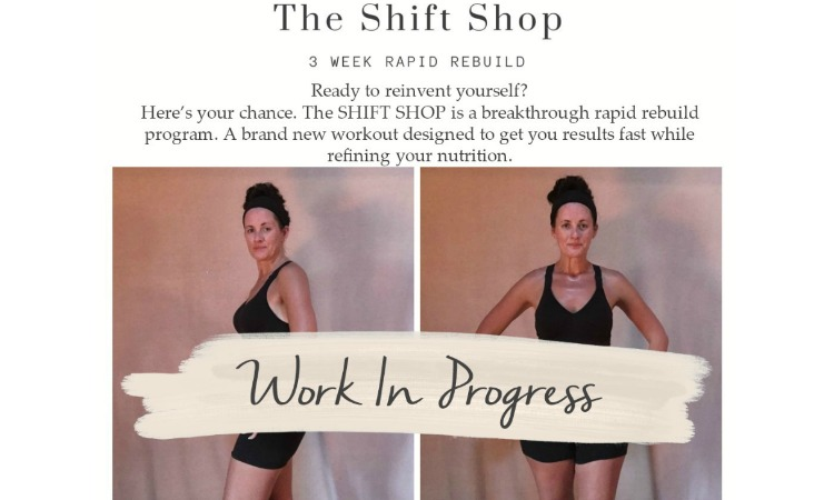 My Week One journey with The Shift Shop Workout