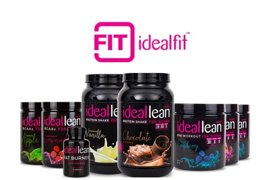 IdealFit-ideal lean- protein powder for women- supplements for women