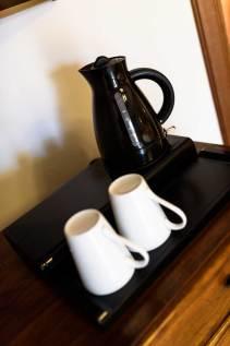 detail of coffee pot