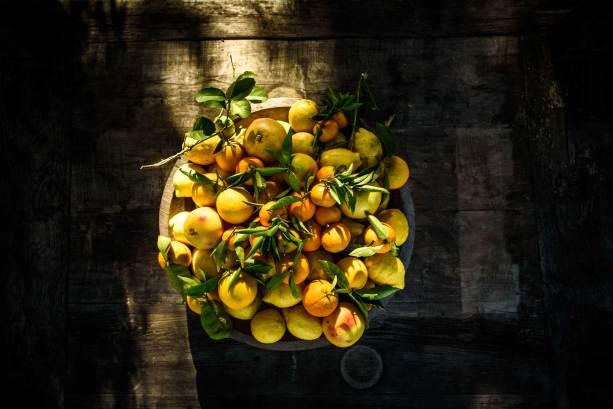 detail of fruit bowl