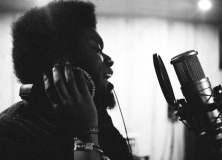 Michael Kiwanuka in the studio