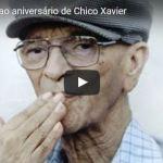 Homenagem ao aniversário de Chico Xavier