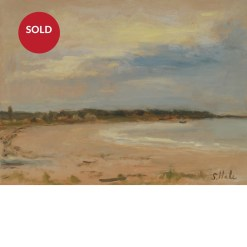 SOLD Goose Rocks Beach oil painting Sonia Hale