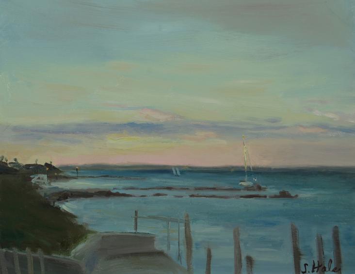 2016.02.Hale_.Marthas-Vineyard-Seascapes.Sunset-at-Oak-Bluffs