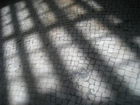 The floor of Rossio railway station, Lisbon