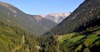Blick ins Lechtal und auf die Allgäuer Alpen