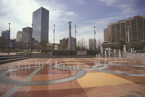 Centennial Park Fountain