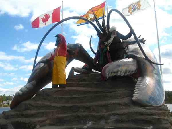 Big lobster, Shediac