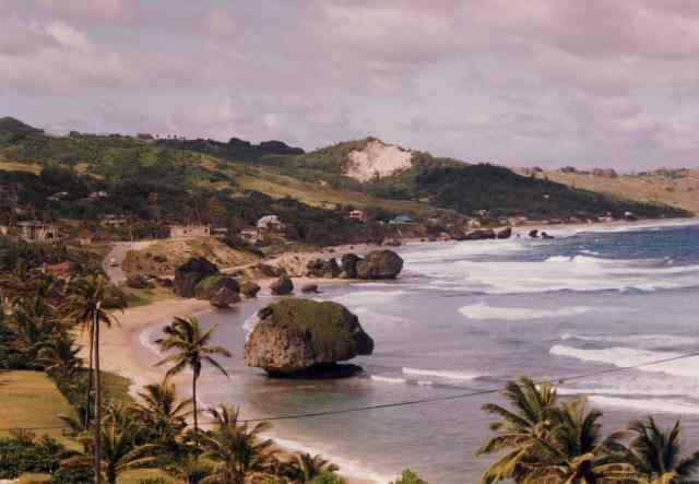 Near Batsheba, Barbados