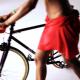 Ciclistas fluorescentes