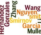 Los 10 apellidos más comunes en el mundo